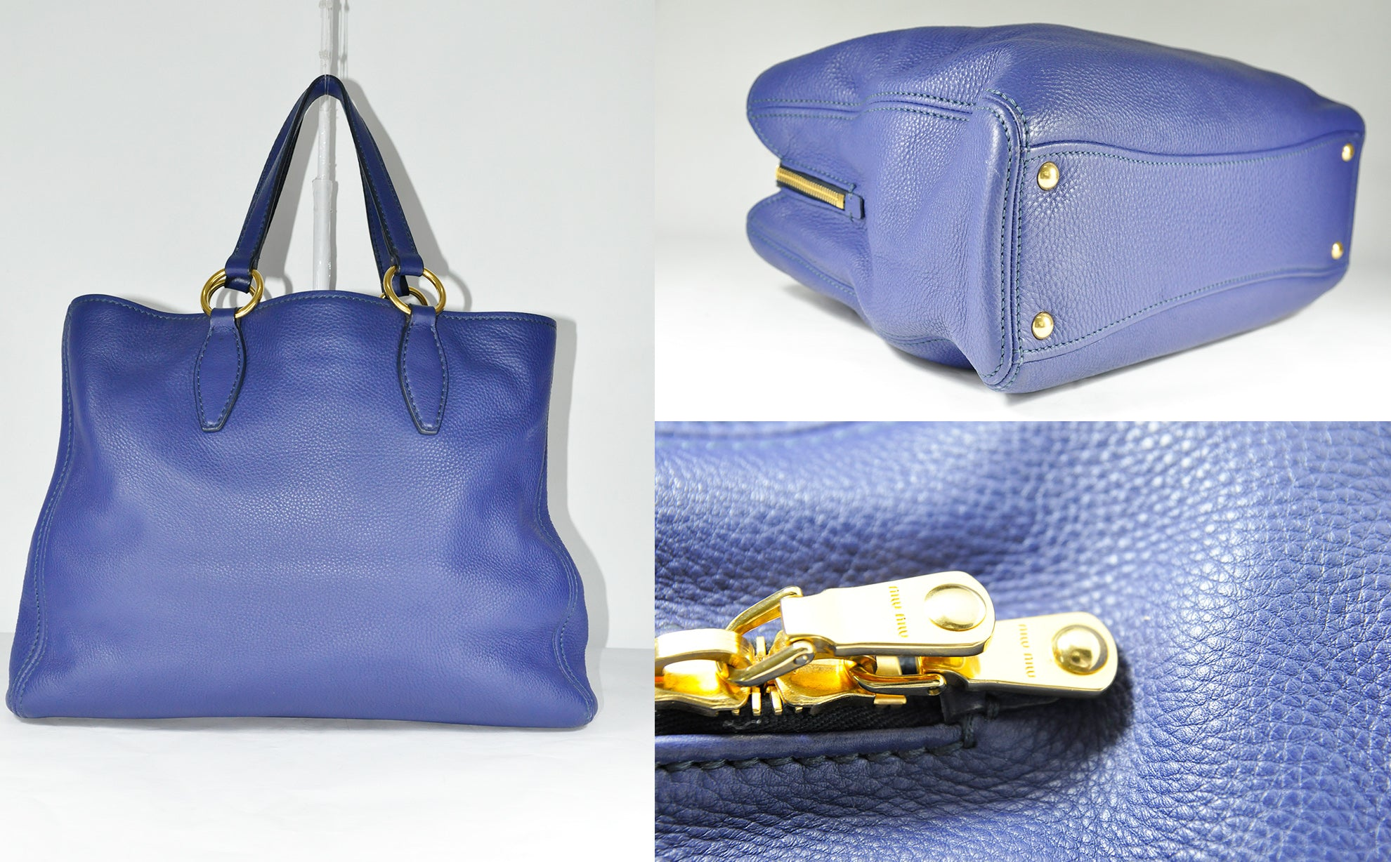 RN0761 Shopping Tote in Blue