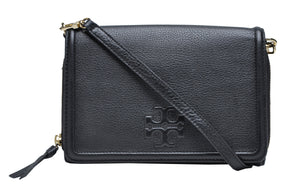 Tory Burch  THEA FLAT WALLET CROSS-BODY IN BLACK