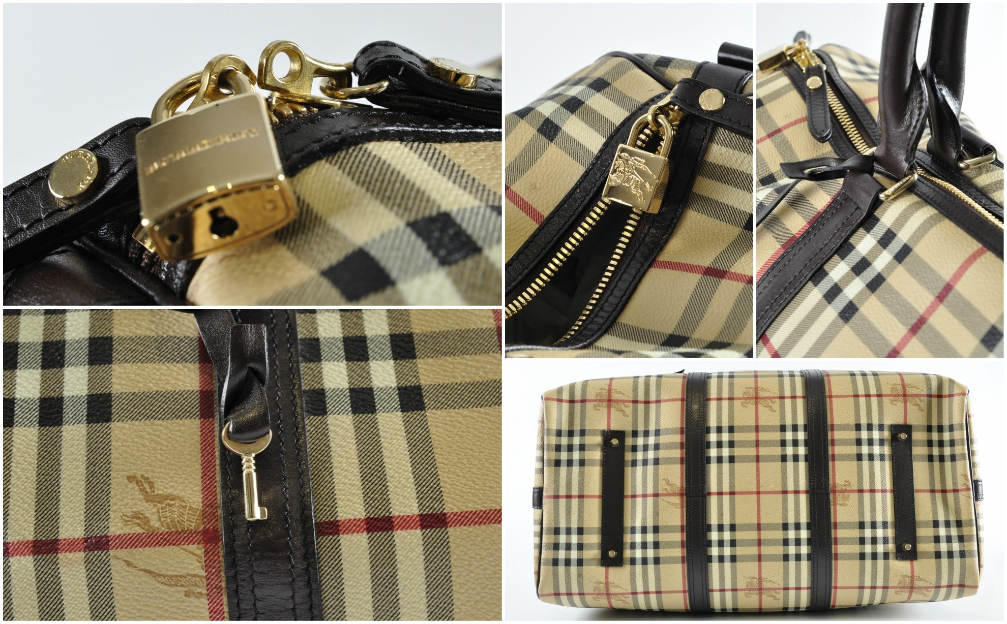 Burberry Nova Check Travel Bag - Glampot