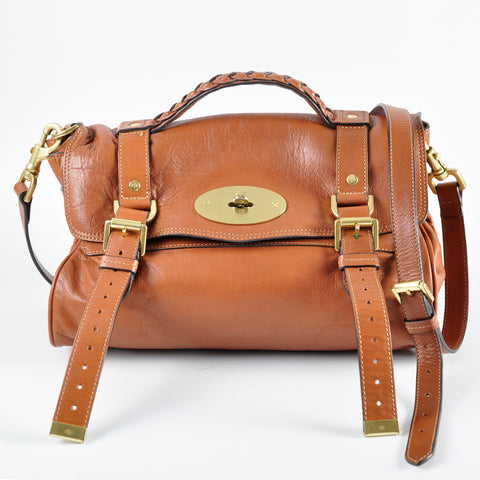 Mulberry Soft Buffalo Leather Alexa Oak 5110700