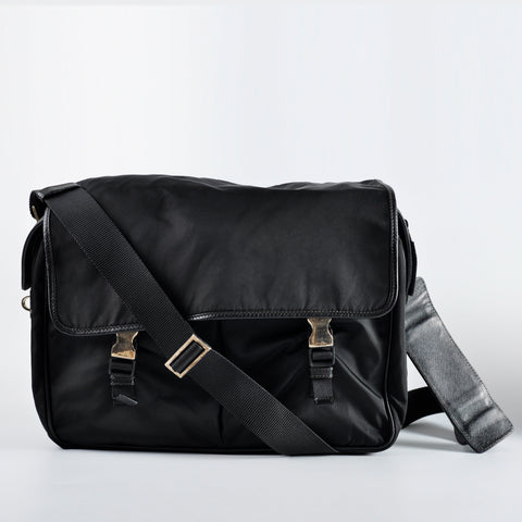 f057fbd72d8e6d Prada Large Nylon Men Messenger Bag