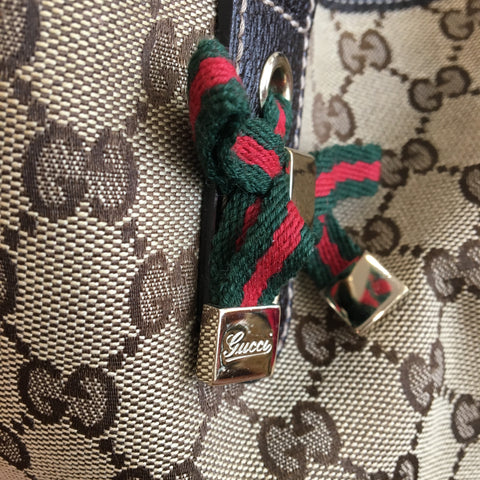 662b013f81d6 Gucci 163805002404 GG Canvas Princy Tote Bag – Glampot