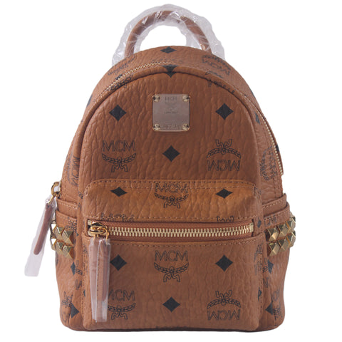 Stark Bebe Boo Backpack in Cognac MMK