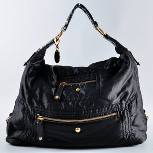 Tod's Black Nylon Pashmy Bag
