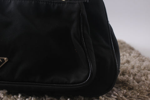 Prada Small Black Shoulder Bag