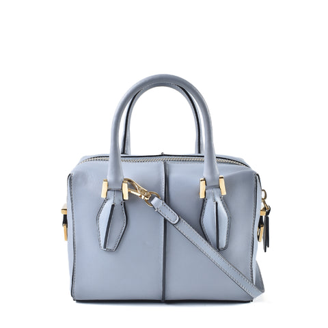 Tod's D Cube Bowler Bag in Light Blue