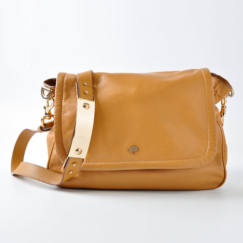 Mulberry Brown Crossbody Bag