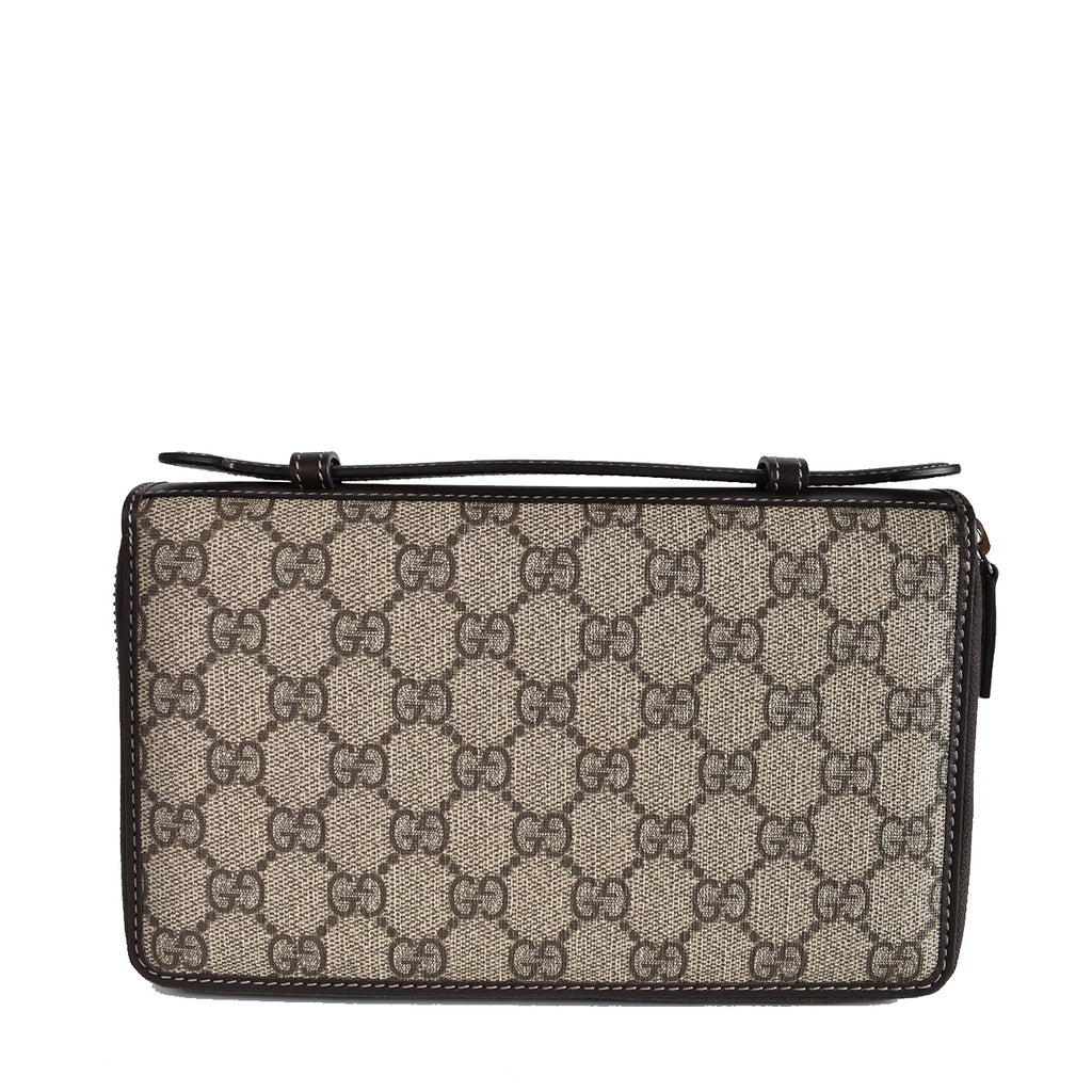 Gucci GG Supreme Canvas Travel Document Case