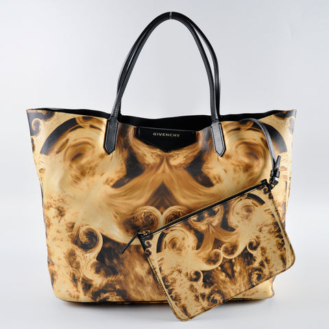 582d97deff Givenchy Antigona Flame Printed Canvas Tote Bag