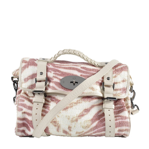 Mulberry Raffia Trippy Tiger Alexa