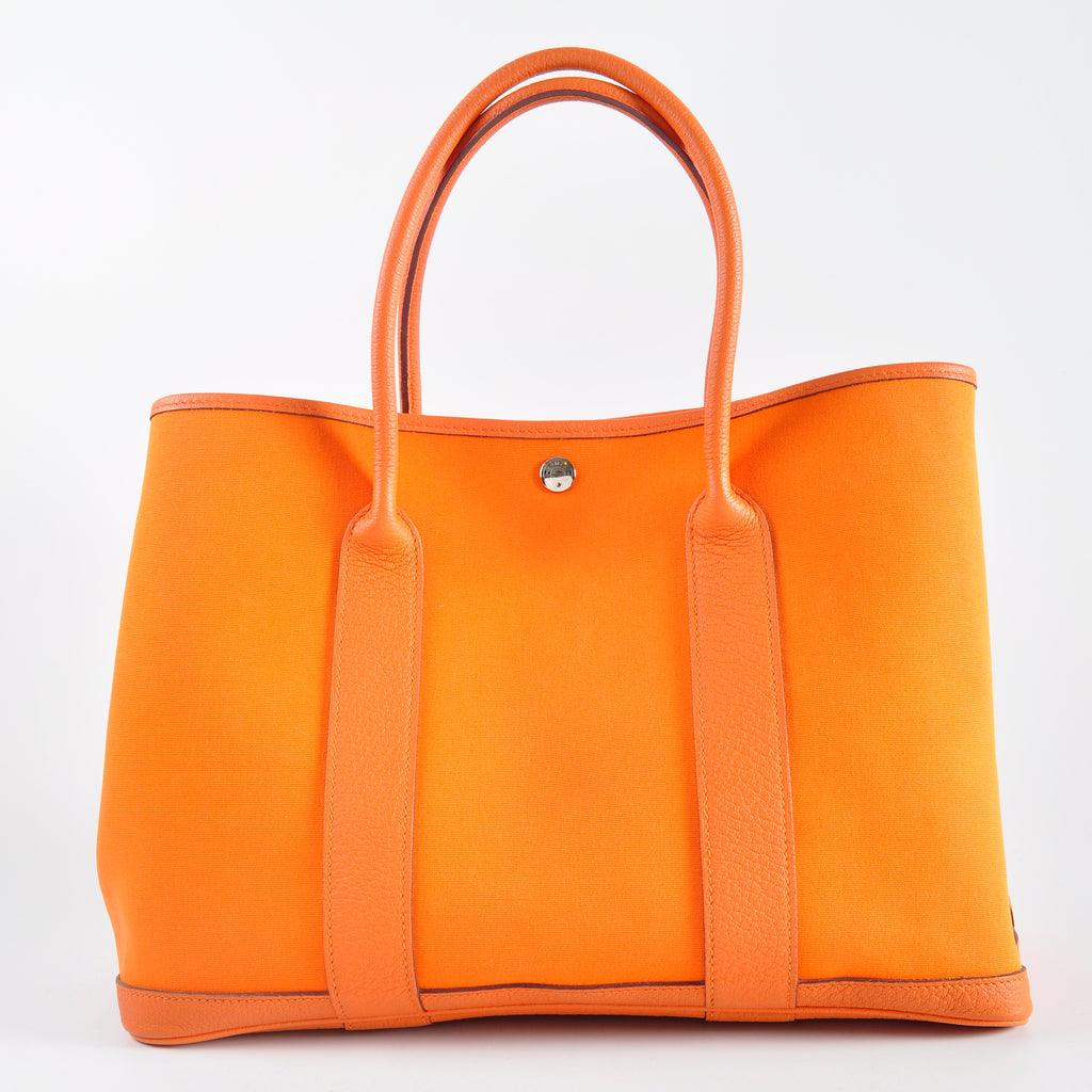 Hermes Garden Party Canvas 36 Orange