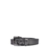 Burberry Metallic Grey Triple Belt