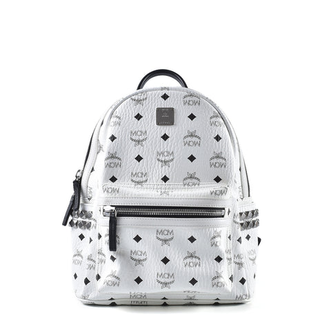 MCM Stark Classic Backpack Small in Visetos