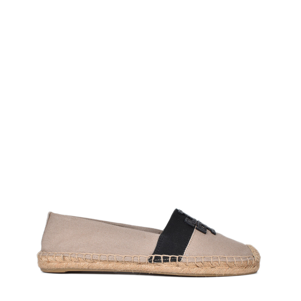 Tory Burch Weston Flat Espadrille in Beige