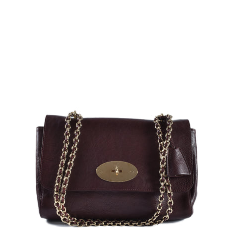 Mulberry Medium Lily Oxblood Natural Leather 10404169