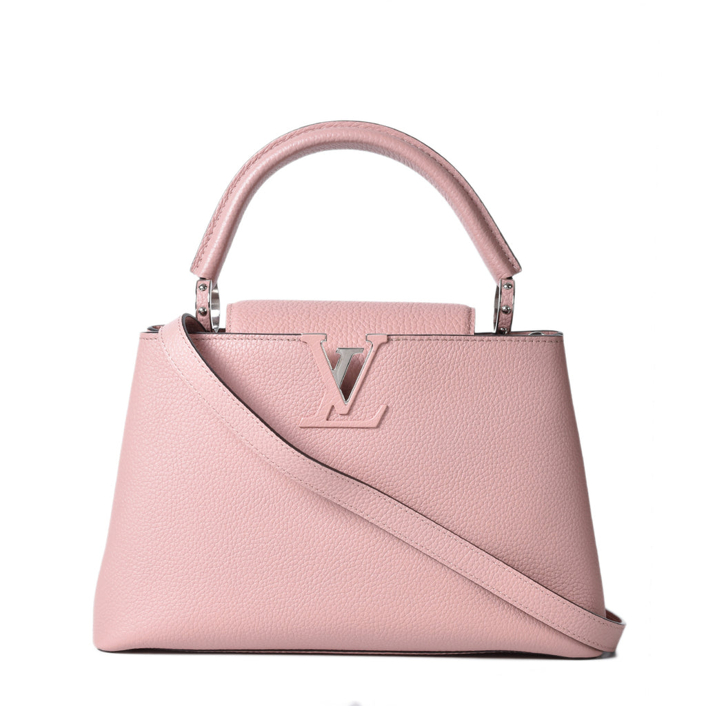 Louis Vuitton Capucines PM Taurillon Magnolia