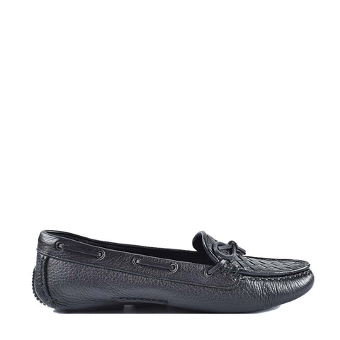 Bottega Veneta Black Loafers