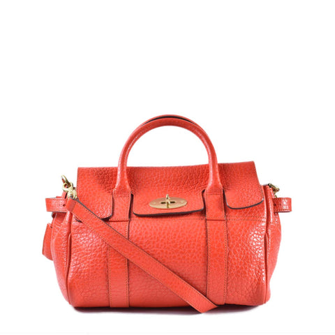 Mulberry Classic Small Bayswater Orange Bag 1686091