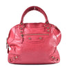 Balenciaga Giant 12 Rose Gold Agneau Bowler Leather Tote 303281 5765 K 538735