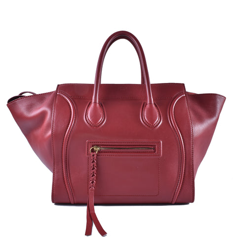 032688951d Céline Phantom Medium Red F-PA-0153