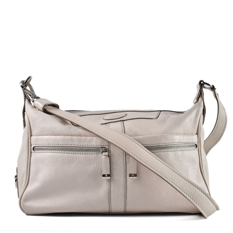 Tod's White Leather Crossbody Bag