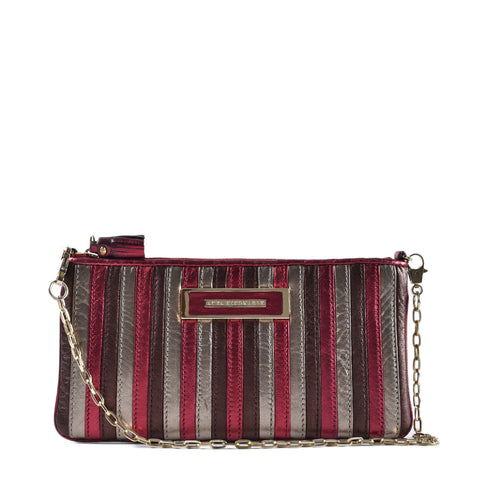 Anya Hindamarch Metalic Angel Nappa Clutch
