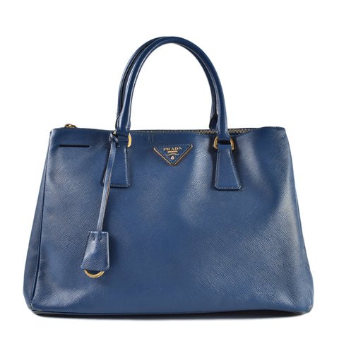 b01b1a5af9d38a Prada BN2274 Saffiano Lux Bluette Two Way Shoulder Bag