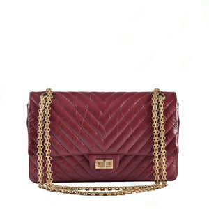 Chanel 2.55 Reissue Chevon Red Aged Calf 226 Flap GHW 25533556