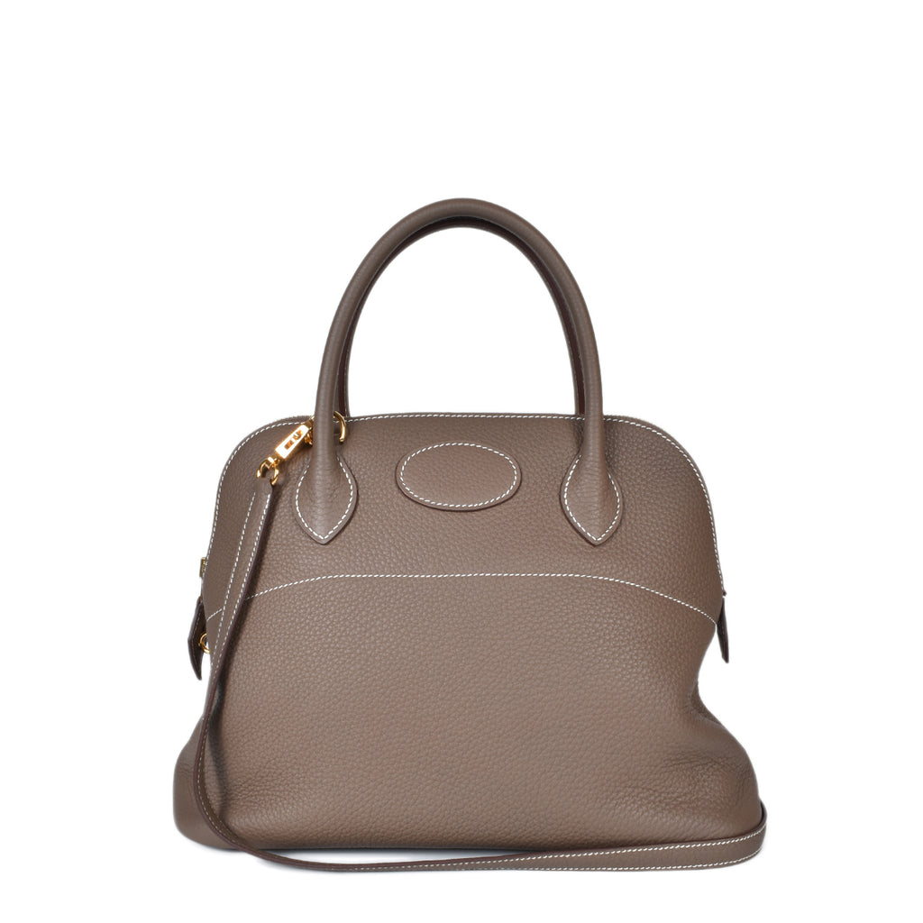 Hermes Bolide 31 Etoupe Taurillon Clemence
