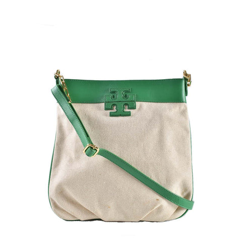 Tory Burch Green Swingpack Crossbody