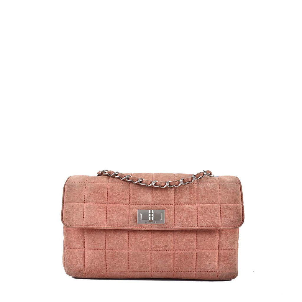 Chanel Seasonal Coral Pink Velvet Bag 6139395