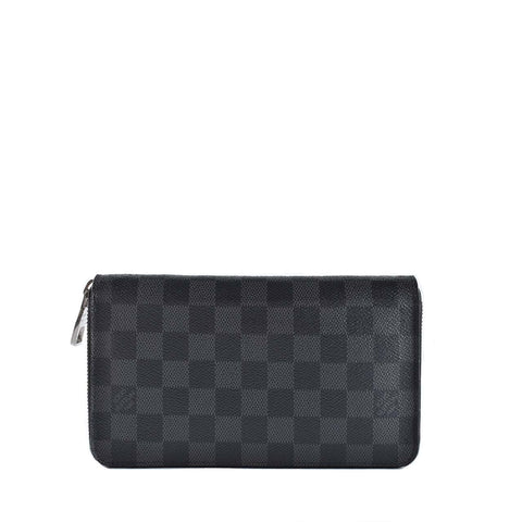 Louis Vuitton N63077 Graphite Zippy Organizer Wallet