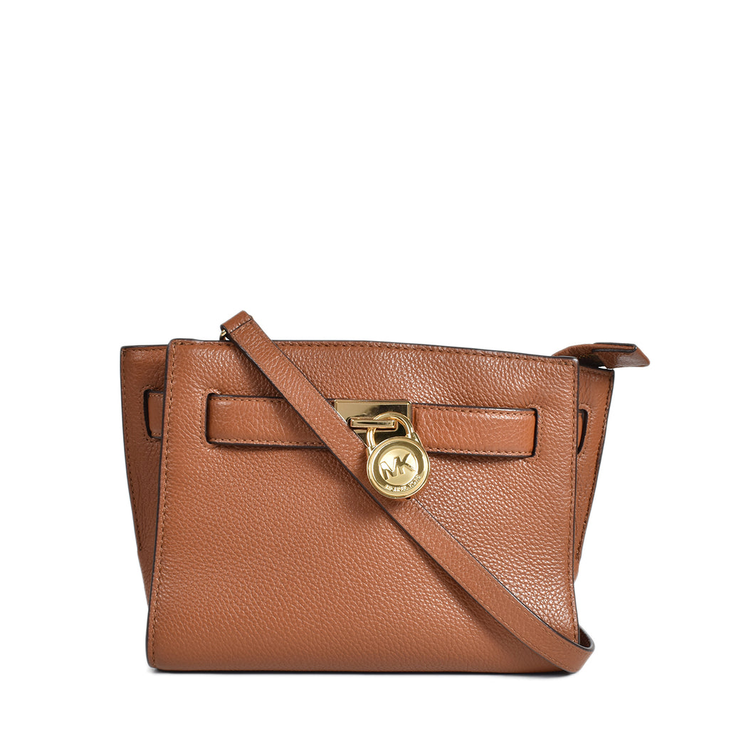 Michael Kors Brown Hamilton Traveler Messenger Bag