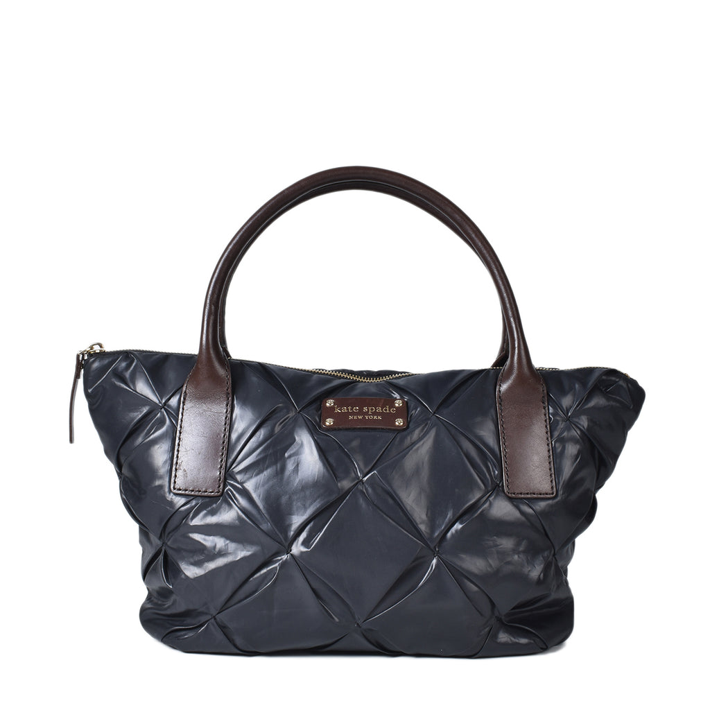 Kate Spade Quilted Nylon Bag in Black