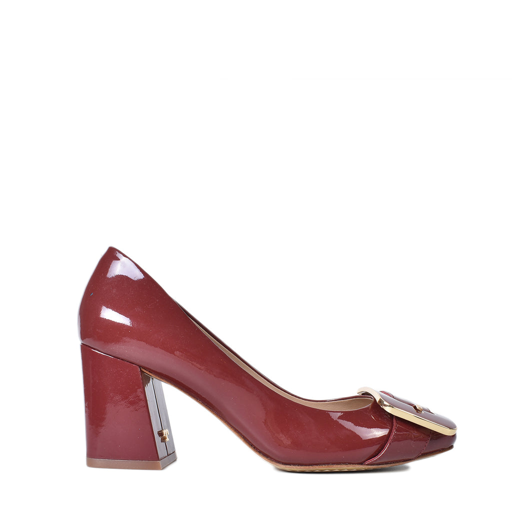Tory Burch Maria 75mm Pump in Tuscan Wine