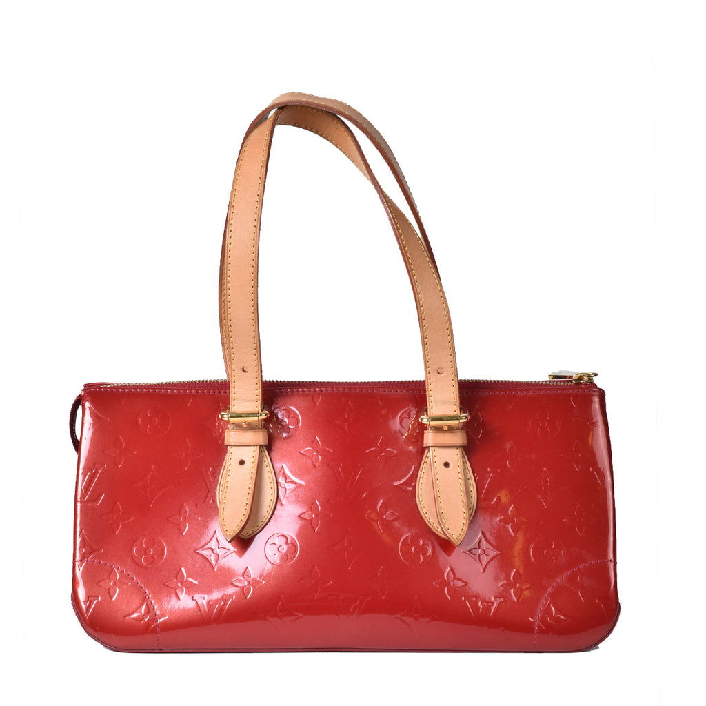 Louis Vuitton Pomme D'Amour Monogram Vernis Rosewood Avenue Bag