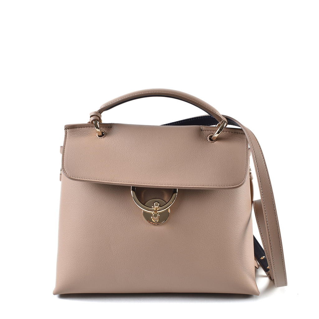 Salvatore Ferragamo Top Handle Bag in Beige