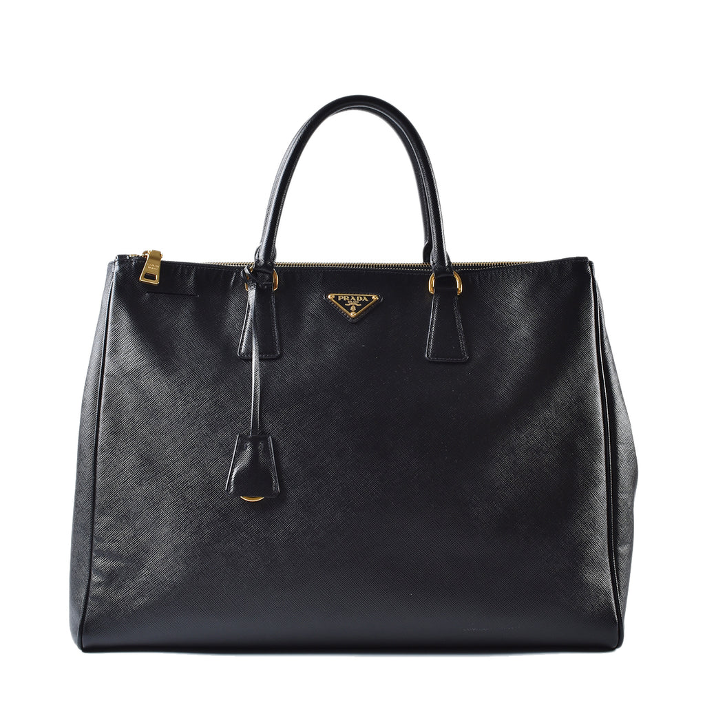 Prada Saffiano Large Executive Tote Bag