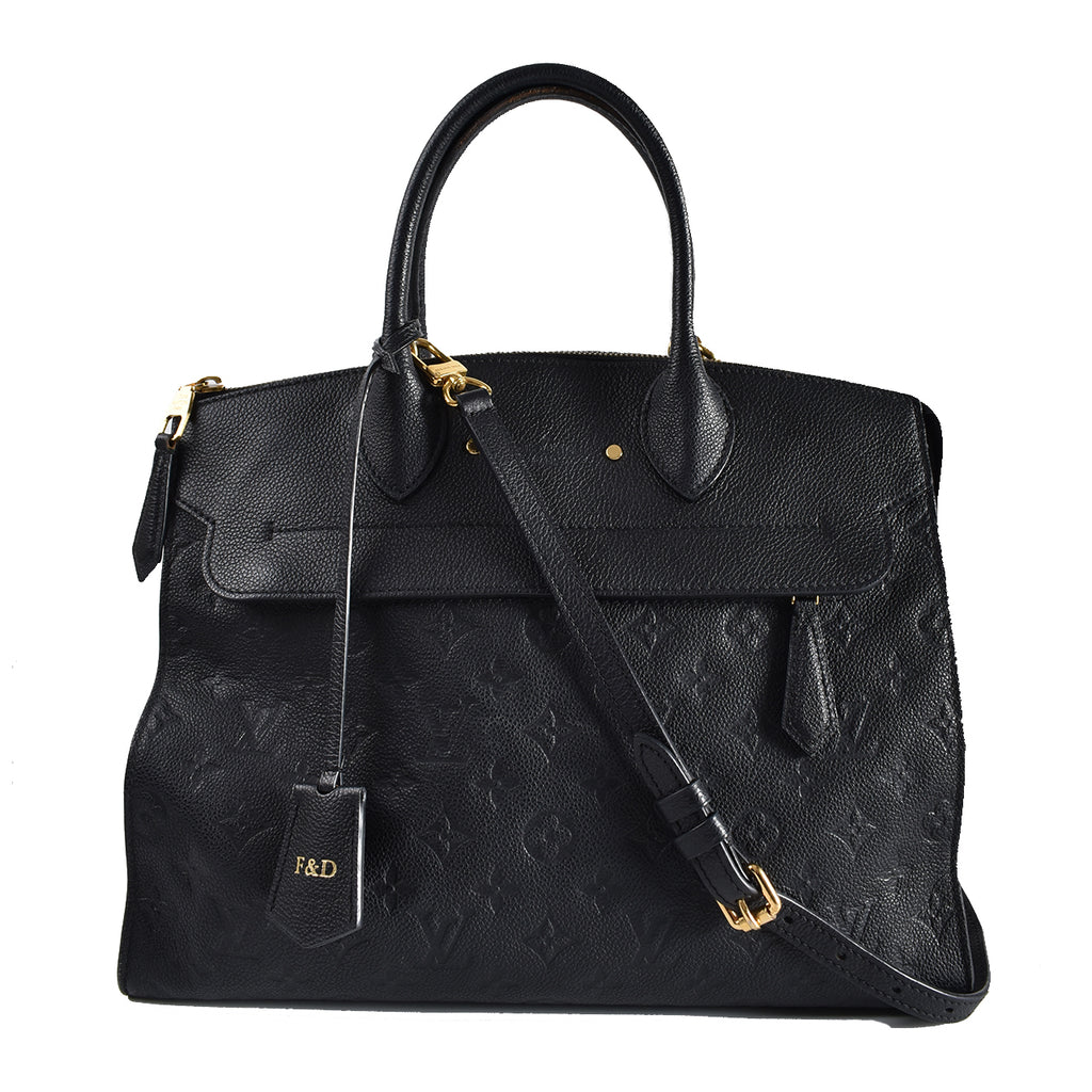 Louis Vuitton Monogram Empreinte Pont Neuf GM Bag CA1116