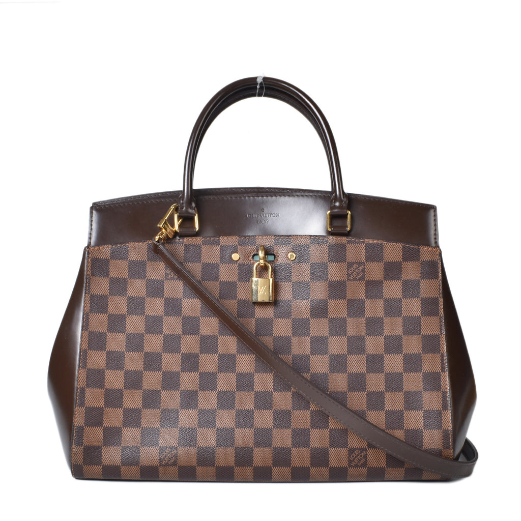 Louis Vuitton Damier Canvas Rivoli MM Bag