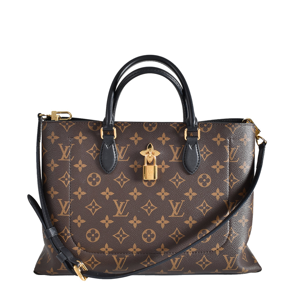 Louis Vuitton Monogram Canvas Flower Tote Bag AH0148