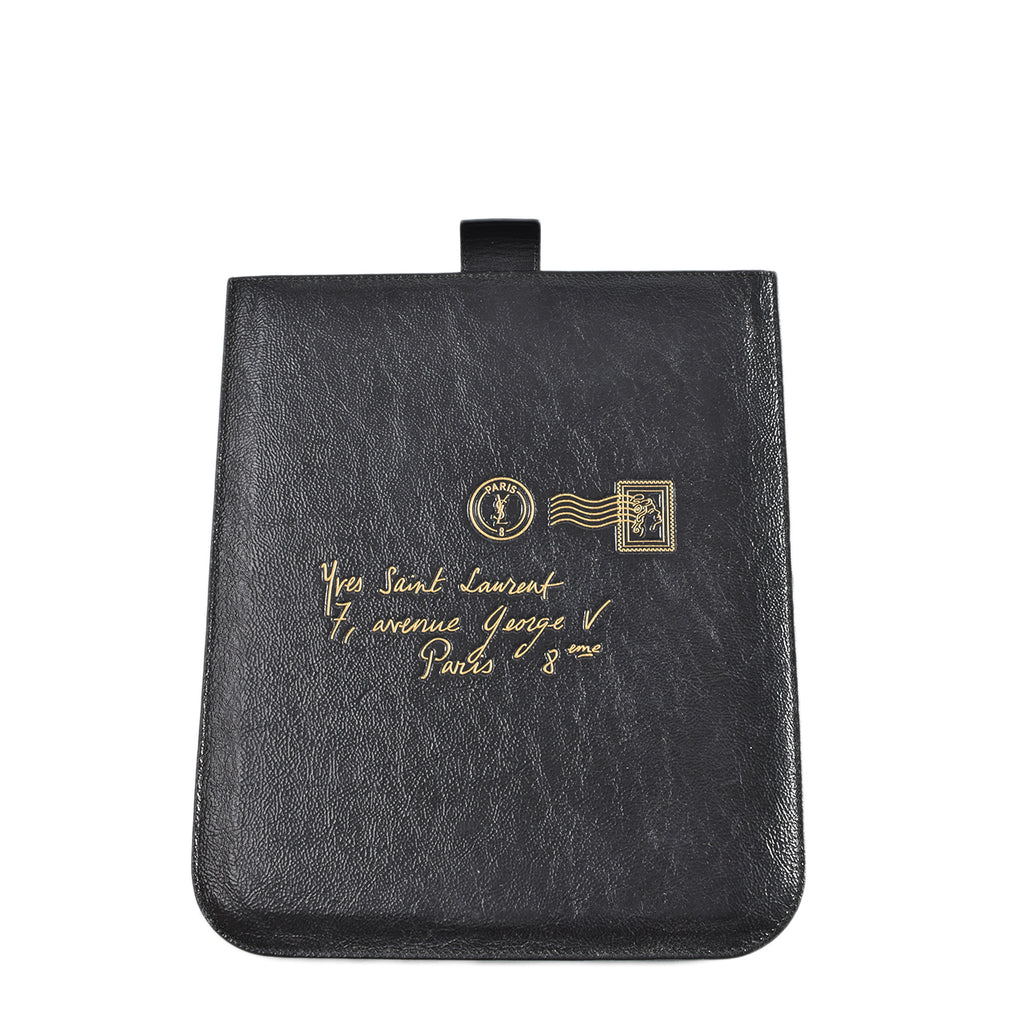 Yve Saint Laurent Black Ipad Case