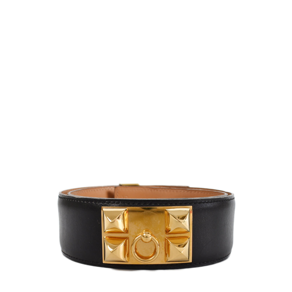 Hermes CDC Belt Black GHW