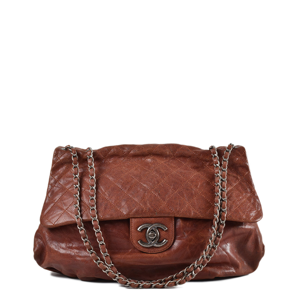 Chanel 2012 Seasonal Shoulder Bag in Dark Red RHW