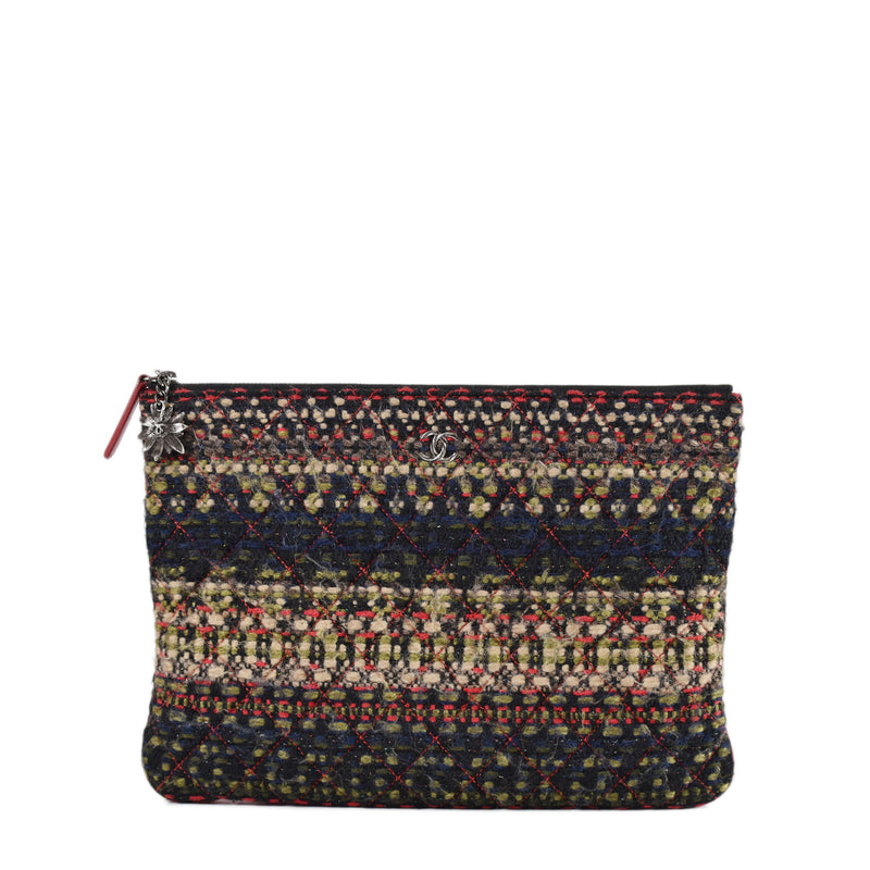 Chanel Ocase Multicolor Tweed