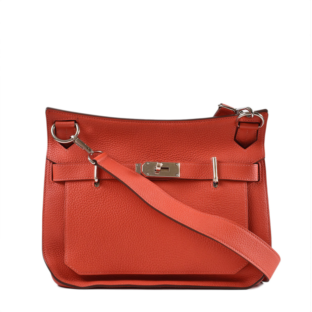 Hermes Jypsiere 31 Bougainvillea Clemence Leather PHW