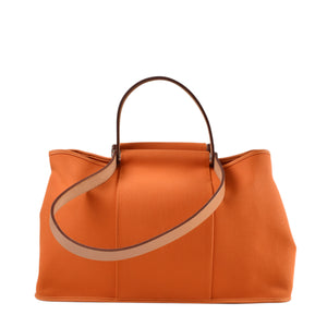 Hermes Elan Canvas Cabag Elan PM Tote Bag