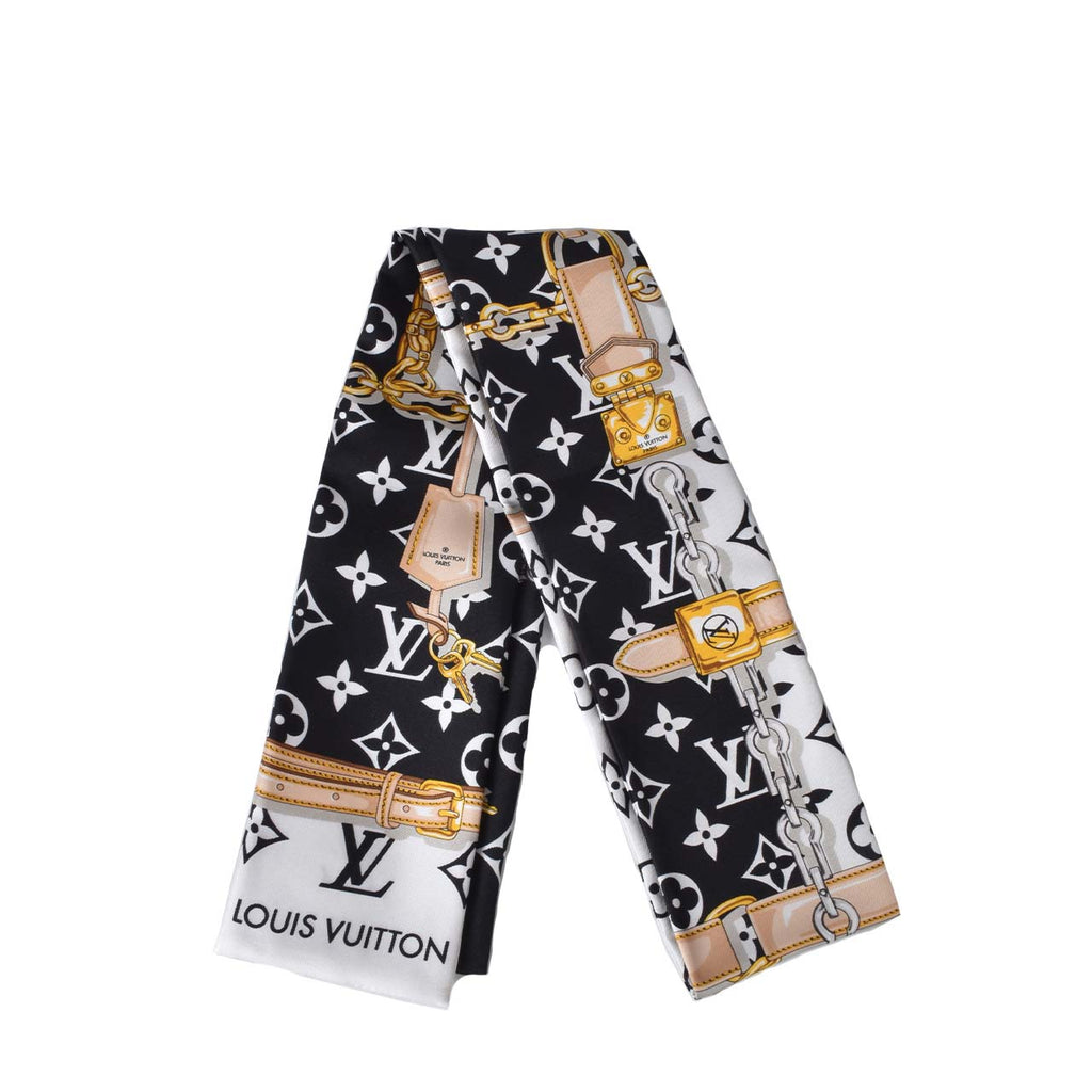 Louis Vuitton M78656 Silk Monogram Confidential Bandeau