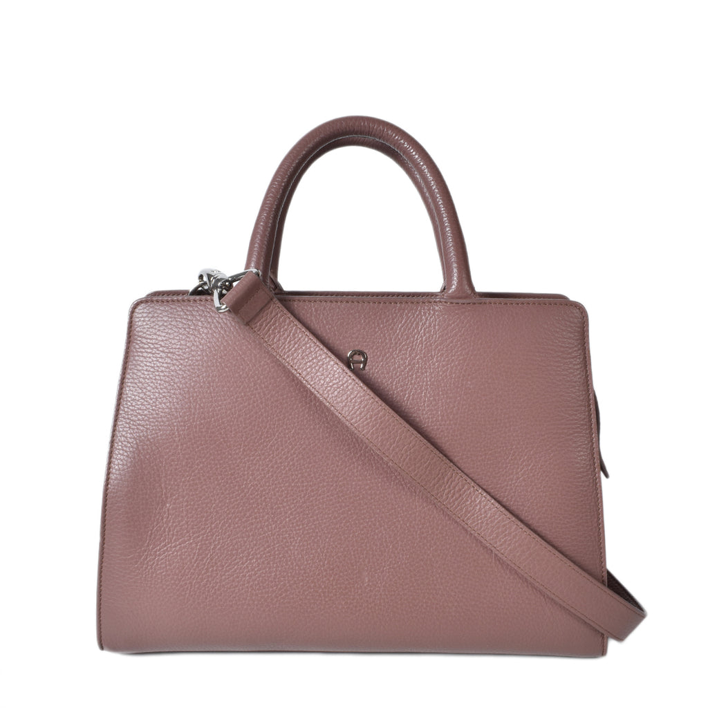 Aigner Cybill Tote Bag in Purple