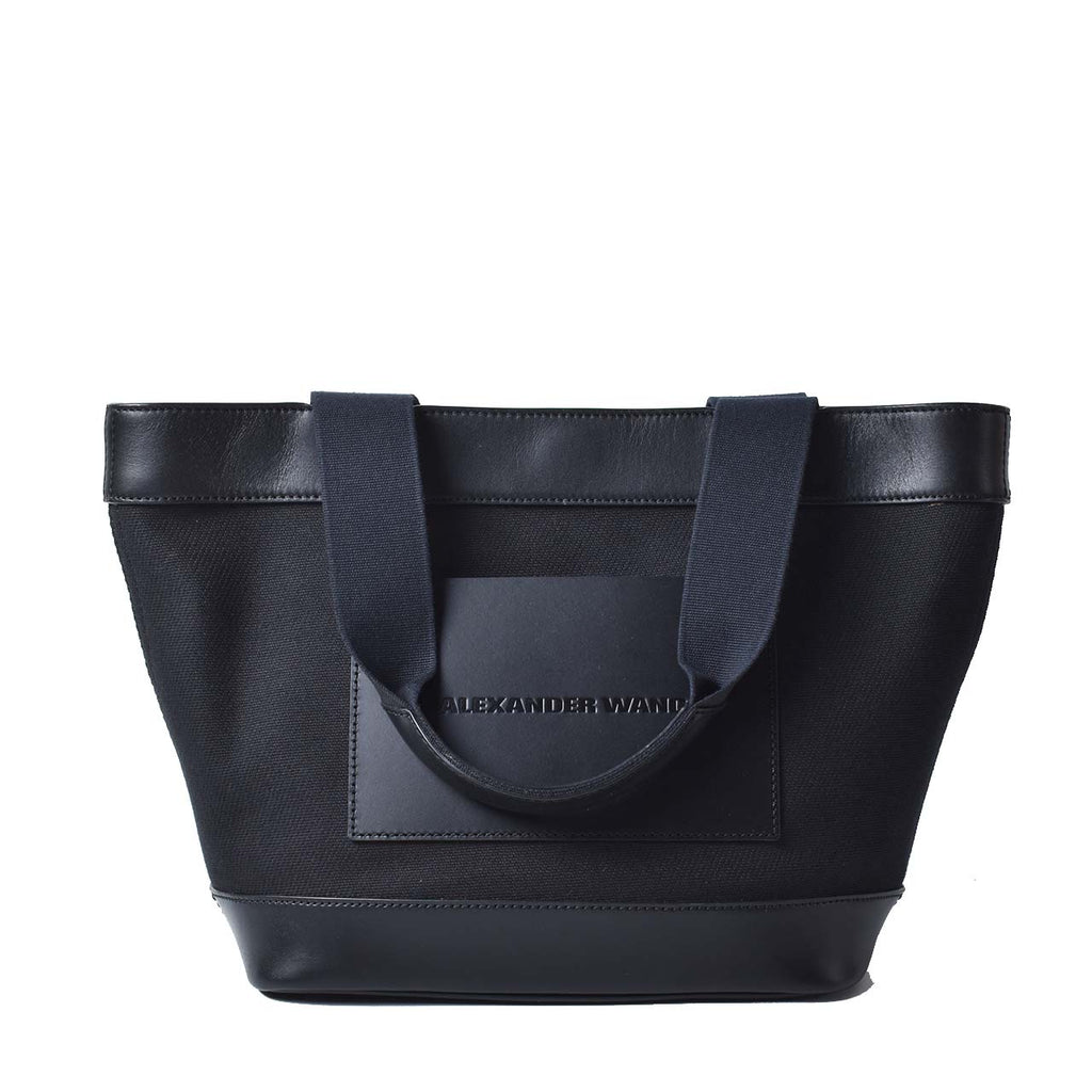 Alexander Wang Black Canvas Tote Bag